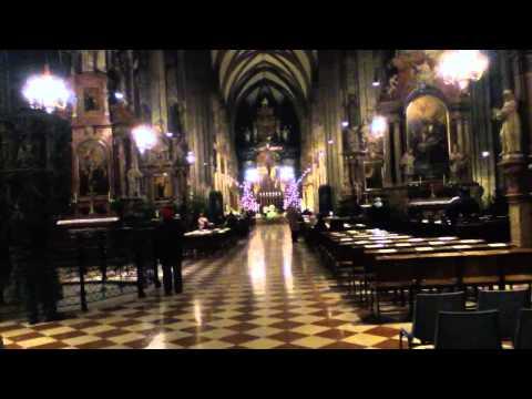 Католическая служба в соборе Святого Сте