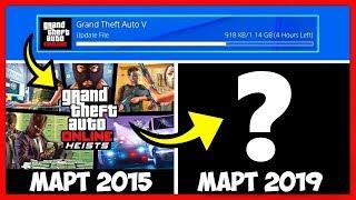 GTA 5 Online: DLC В МАРТЕ? / ХРОНОЛОГИЯ ОБНОВЛЕНИЙ! / 2013 - 2019