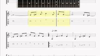 Arch Enemy   Dead inside GUITAR 1 TABLATURE