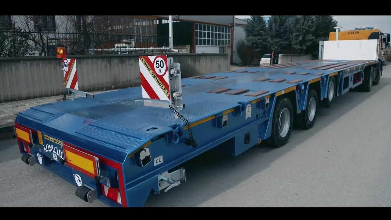 3 Axle Extendable Platform