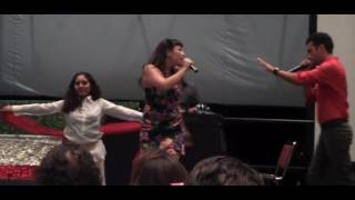 Arsi Nami - Unveil for Freedom (Live Performance @ Save The Culture w/Persian Big Names)