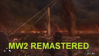 MW2 Remastered - What Happens If You Don't Defend The Washington Monument?
