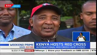 International Red Cross Society youth camp in Nyeri comes to close