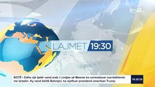 Lajmet qendrore 19:30 12.09.2020