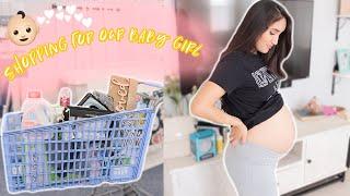 SHOPPING FOR BABY GIRL 👶🏻💕 3RD TRIMESTER!