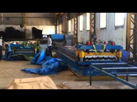 2 in 1 Sheet Roll Forming Machine