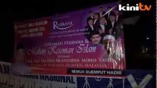 Ceramah-off: Muhyiddin & A Singing Ustaz Vs PAS's Hadi Awang