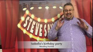 Isabella's birthday party