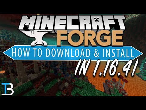 How To Download & Install Forge in Minecraft 1.16.4