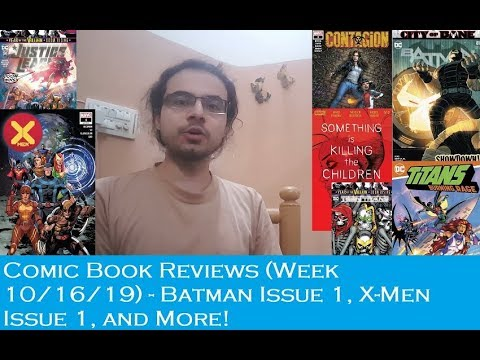 Comic Book Reviews: X-Men Issue 1, Batman Issue 81, and More!