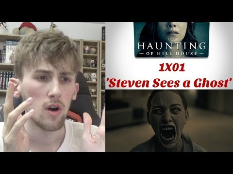 The Haunting of Hill House Season 1 Episode 1 - Steven Sees a Ghost' Reaction
