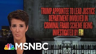 NBC News: President Donald Trump Likely Faced Indictment But For Presidency | Rachel Maddow | MSNBC