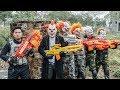 LTT Films Silver Flash Black Man Nerf Guns Fight Criminal Group Tiger Mask Finish