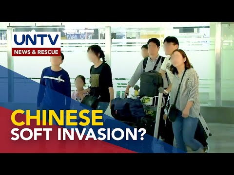 [UNTV]  Senator wants to probe entry of 4 million Chinese nationals since 2017