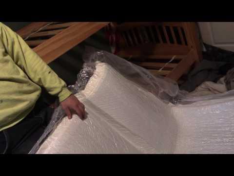 Un-Boxing COSTCO Serene Foam Mattress Review