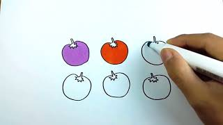 Menggambar Tomat ฟรวดโอออนไลน ดทวออนไลน คลปวดโอฟร