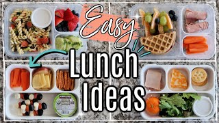EASY LUNCH IDEAS FOR KIDS 2019 :: WEEK OF HEALTHY BACK TO SCHOOL BENTO LUNCH BOX IDEAS + RECIPES