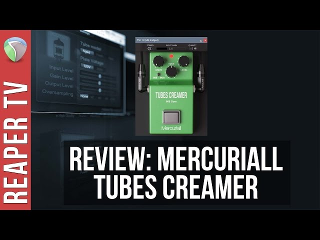 Demo / Review: Mercuriall Tubes Creamer