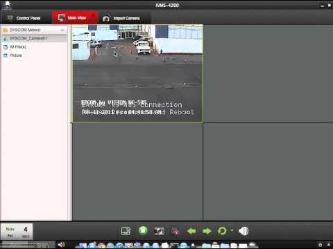 FINAL) Hikvision en Mac con el nuevo iVMS4200 - Comunidad SYSCOM
