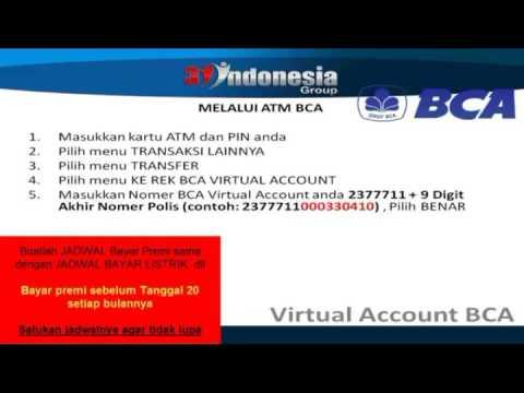 PANDUAN CARA MENABUNG PREMI 3I-NETWORKS VIA ATM BCA BRI MANDIRI