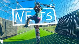 POV GoPro Cricket at its Best- Batting in the Nets and Eating Pies(Ep20)