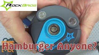 (987) Review: RockBros Hamburger Bicycle Lock