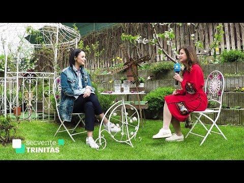 Andreea Marin despre proiectele Fundatiei Pretuieste Viata - Trinitas TV, Secvente Trinitas, 25.04.2018