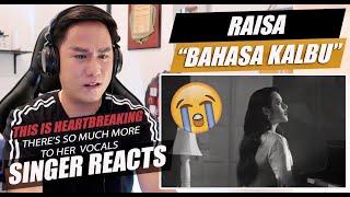 RaisaAndi Rianto Bahasa Kalbu SINGER REACTION...