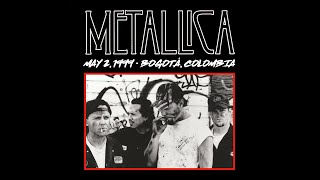 Filmed at Parque Simón Bolívar in Bogotá, Colombia on May 2, 1999.  Subscribe for more videos: https://tallica.lnk.to/subscribe  Want more Live Metallica?  https://nugs.net/metallica  Filmed by the House Cameras Audio Made Listenable by Greg Fidelman VHS Tape Transferred with the Help of Ally Bace, Ilana Short, & Djahari Clark  00:00:00 Lars Intro 00:03:36 Breadfan 00:07:46 Master of Puppets 00:16:24 Of Wolf and Man 00:21:12 The Thing That Should Not Be 00:27:40 Guitar Doodle 00:28:36 Fuel 00:33:19 The Memory Remains 00:38:10 Bleeding Me 00:46:57 Bass/Guitar Doodle 00:52:07 The Four Horsemen 00:57:37 For Whom the Bell Tolls 01:02:39 King Nothing 01:09:18 Wherever I May Roam 01:16:04 One 01:24:39 Fight Fire With Fire 01:31:54 Nothing Else Matters 01:38:00 Sad But True 01:44:02 Creeping Death 01:52:21 Fixxxer Jam 01:53:40 Die, Die My Darling 01:56:01 Enter Sandman 02:05:14 Battery  Listen to Metallica: https://tallica.lnk.to/listen  Follow Metallica: Website & Store: http://www.metallica.com Official Live Recordings: http://www.livemetallica.com Instagram: http://www.instagram.com/metallica Facebook: http://www.facebook.com/metallica Twitter: http://www.twitter.com/metallica  © 1999 Blackened Recordings      #MetallicaMondays