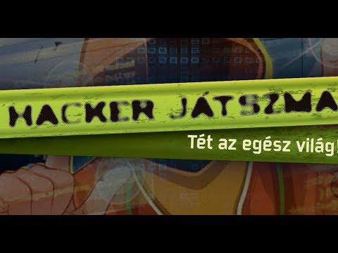 Hacker játszma társasjáték bemutató - Gémklub