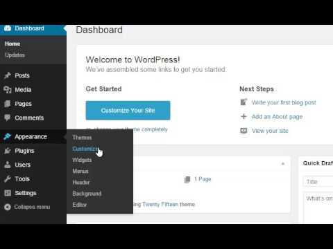 wordpress essential training part1 - YouTube