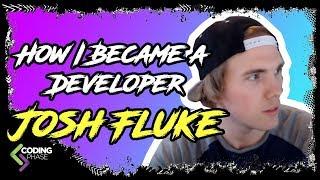 How did I Become a web developer with Josh Fluke   #CodingPhase