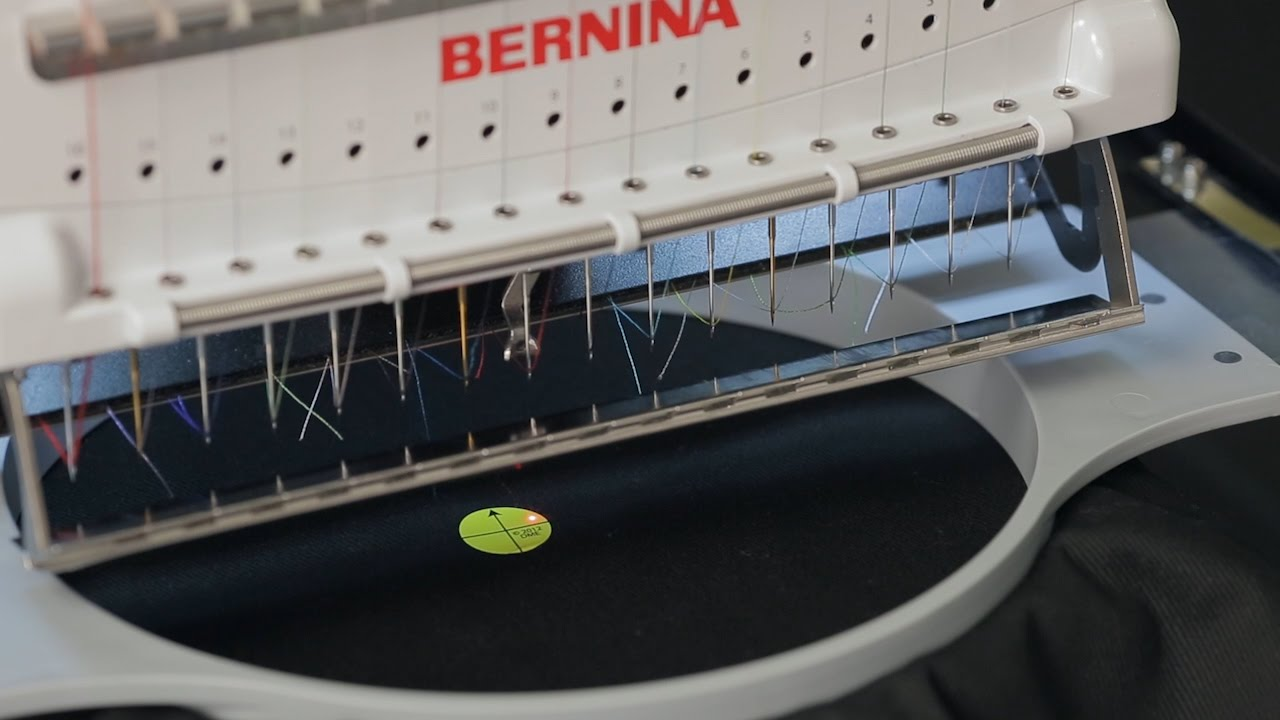 BERNINA E 16 Tutorial: Laser Alignment