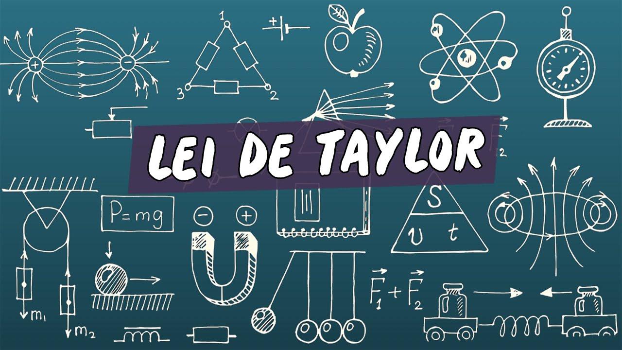 Lei de Taylor