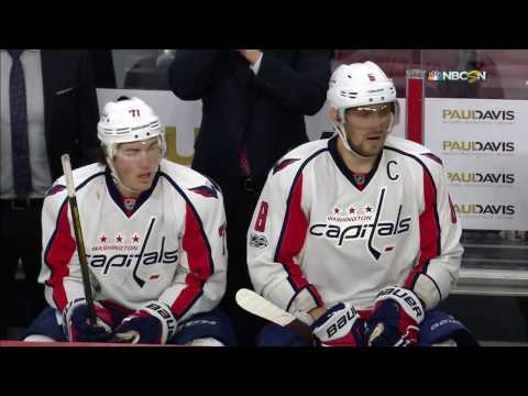 Great effort by Ovechkin finished off by Oshie