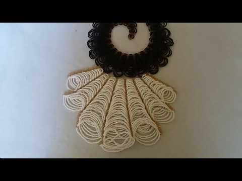 How to make this Elegant beaded jewelry/ How to  make this Abuja connection  beaded necklace.