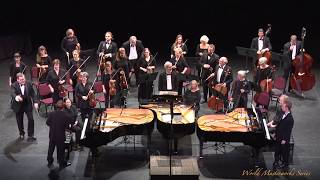 Johann Sebastian Bach - Concerto No.1 In D Minor For Three Pianos, BWV 1063
