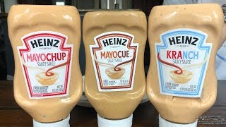 Heinz New Dipping Sauces