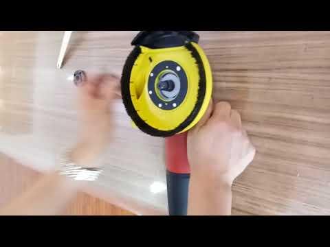 #3 FANZTOOL universal Absaughaube für Winkelschleifer 125mm + Schleifmittel-Set