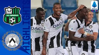 Sassuolo-Udinese 0-1, highlights
