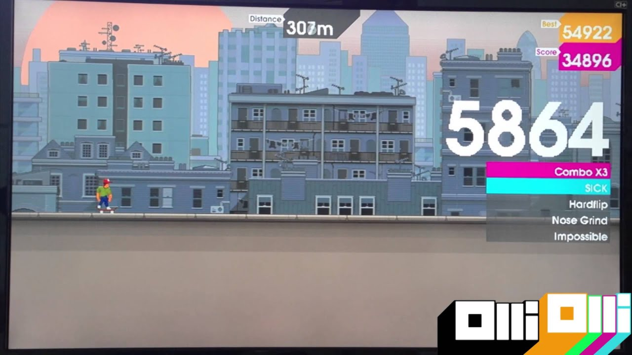 Sidescrolling skate 'em up OlliOlli debuts new footage at E3