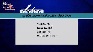 Danh Sách 16 đội Tuyển Tham Dự Vòng Chung Kết U23 Châu Á | Văn Hóa Du Lịch