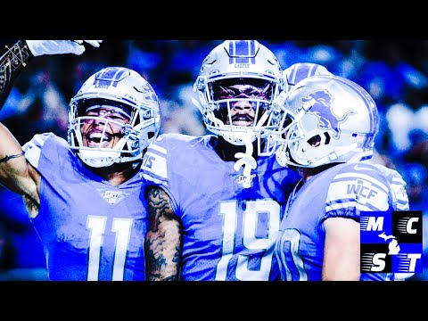 Detroit Lions are Second in NFL For Most Drops