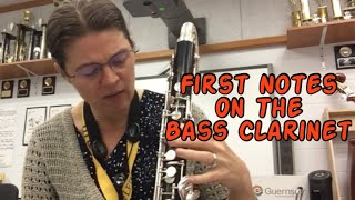 First Notes on the Bass Clarinet