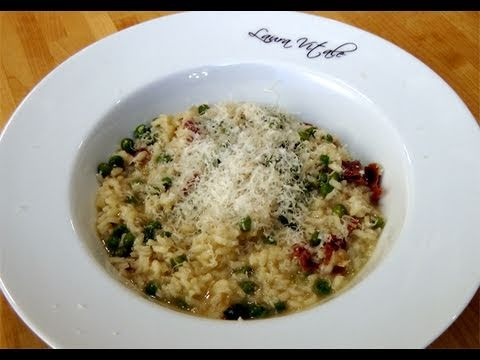 How to make Risotto w/ Prosciutto & Peas – Recipe by Laura Vitale – Laura In The Kitchen Episode 57