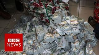 Nigeria: This is what $43m looks like in cash - BBC News