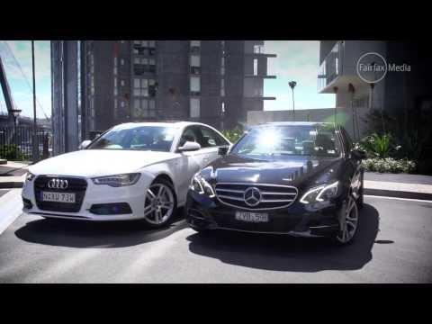 Audi A6 3.0 TDI v Mercedes-Benz E300 Bluetec Hybrid | Luxury | Drive.com.au