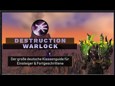 Warlock Affliction Guide WoW BFA Patch 8 0 1 DEUTSCH - смотреть
