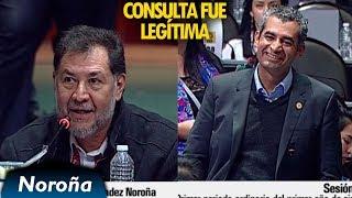 Consulta al Aeropuerto fue Legal y Legítima - Noroña a Ochoa Reza