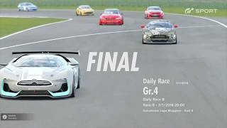 [PS4] GT Sport Multiplayer - Autodrome Lago Maggiore - Nissan GT-R - Gr.4 Daily Race B